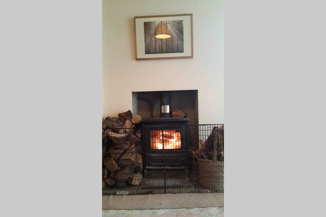 Woodburner in Living Room